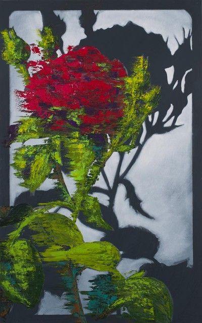 Hannu Palosuo: Obliterated memory, Öljy kankaalle, 160x100