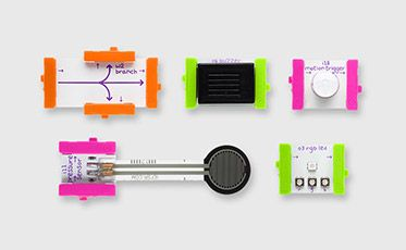 littleBits is the easiest and most extensive way to learn and prototype with electronics. We are making hardware limitless with our award-winning, ever-growing library of electronic modules, ranging from the very simple (power, sensors, LED) to the very complex (wireless, programmable).
