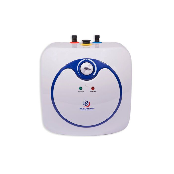 Eccotmep Mini 1 44kw 120 Volt 4 0 Gallon Electric Storage Tank Water Heater