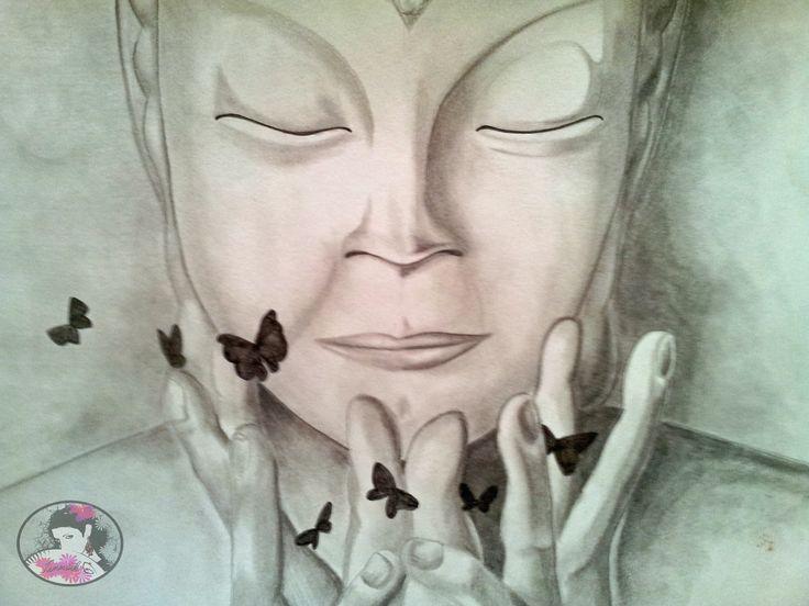 Buddha 1_13#sketch#draw#pencil