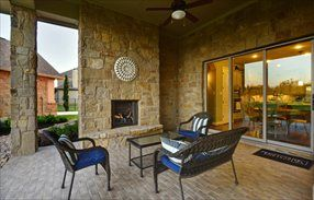 Shelburne New Home Plan in Village Builders Rim Rock: Provence Collection by Lennar