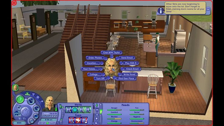 Lets Play: The Sims 2 University- (part 1)- Getting Started