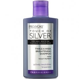 Provoke Touch Of Silver Brightening Shampoo.