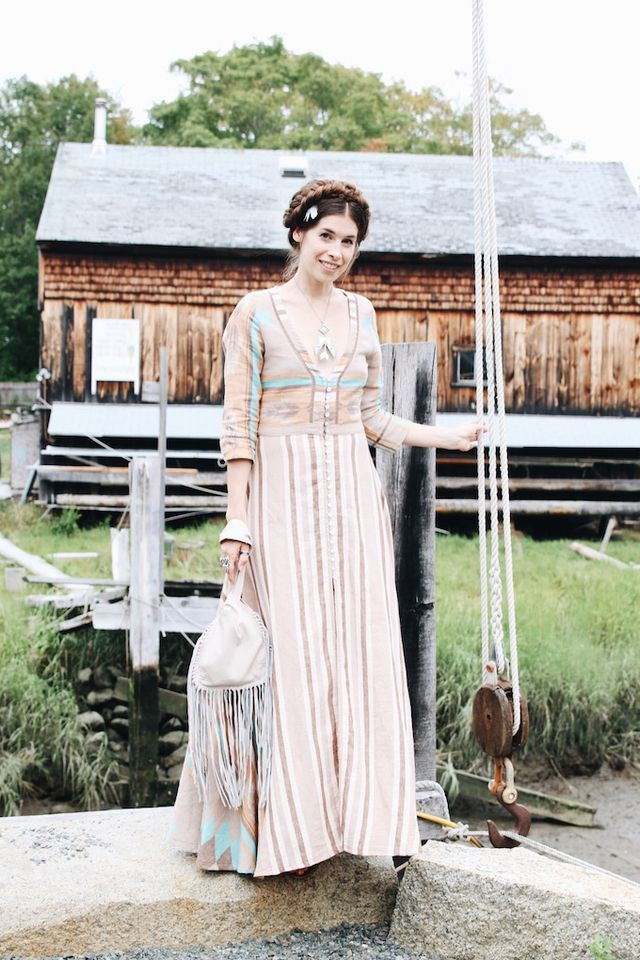 WORN: What to Wear to an Early Fall Wedding