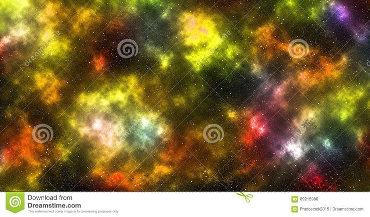 Colored Nebula With Stars - Download From Over 57 Million High Quality Stock Photos, Images, Vectors. Sign up for FREE today. Image: 89215980