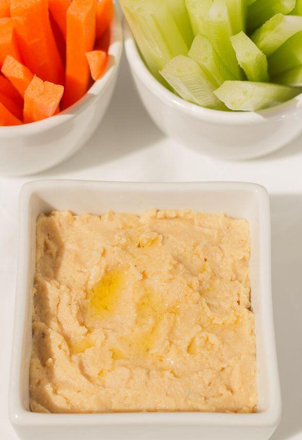 Low Fat Hummus Dip 105