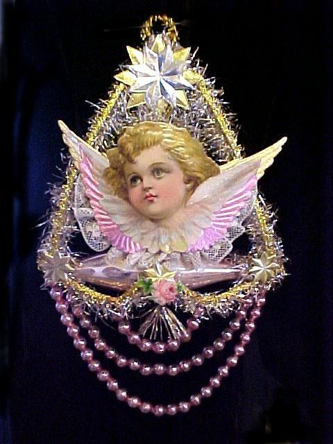 Victorian Angel Ornament Absolutely Stunning