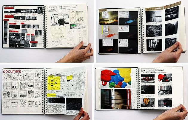 photography sketchbook ideas