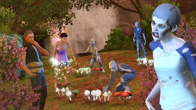 The Sims 3: Supernatural Screenshot