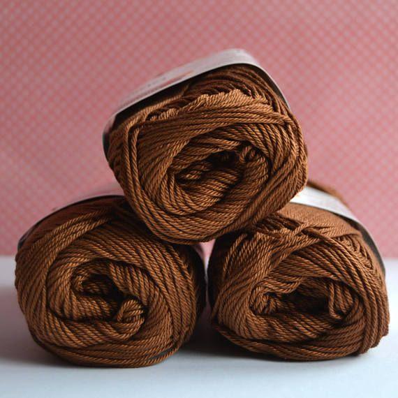 Catania yarn  Schachenmayr / 157 Marone / Worldwide Shipping