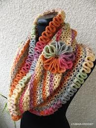 crochet infinity scarf - Google Search