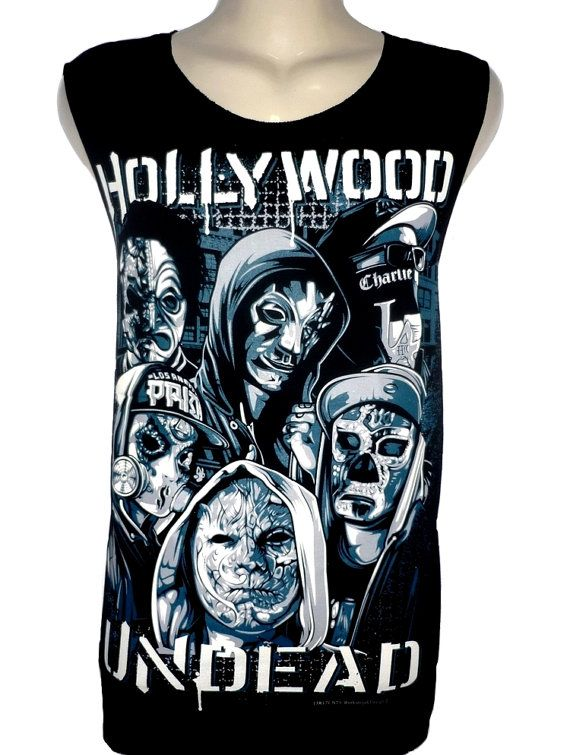 Hollywood Undead Metal Rock Band Music Rap T par BestRockShirts, $12.90
