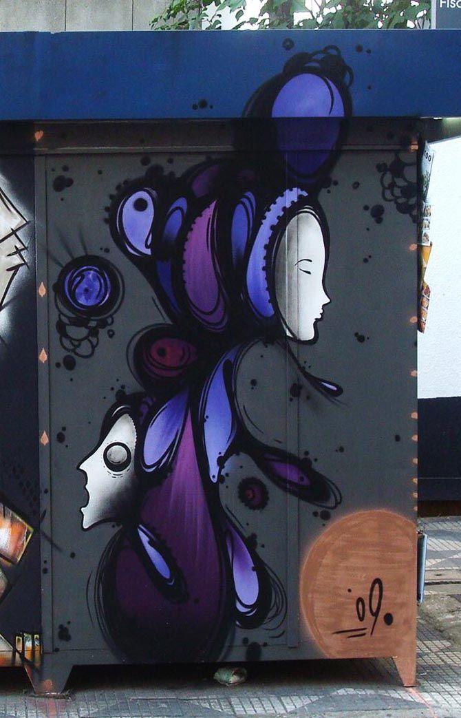 Jhoäo H3nr, São Paulo, Brazil - unurth   street art