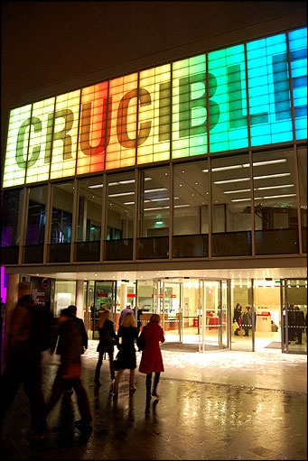 Crucible Theatre, Sheffield.