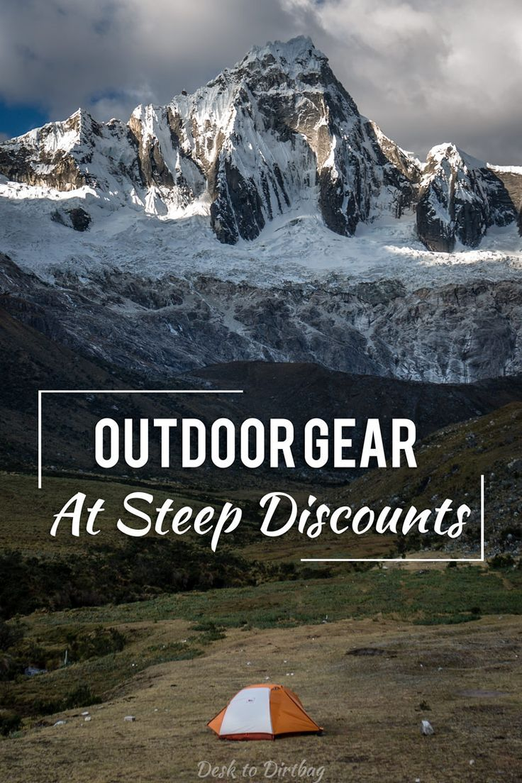 Looking for quality outdoor gear at steep discounts? Look no further...