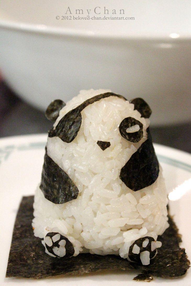 Pirate Panda Onigiri