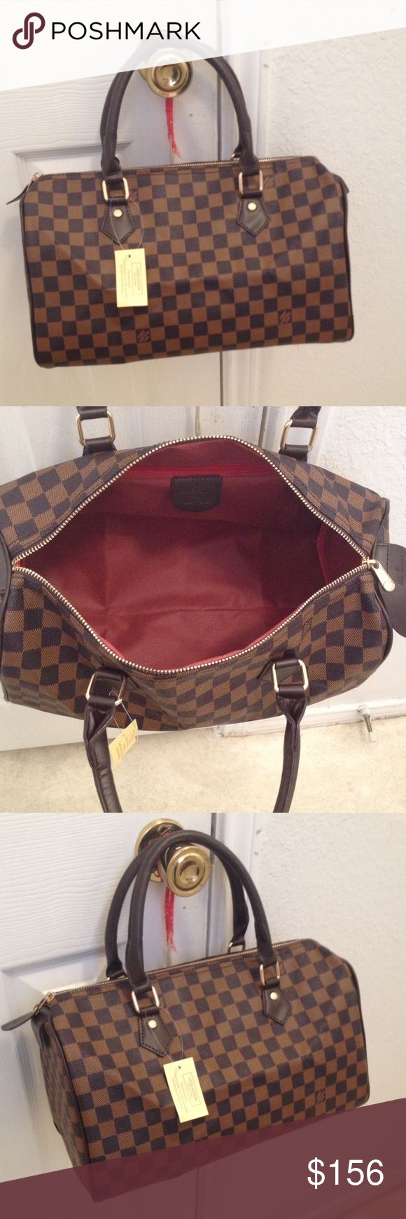 Speedy30 Cute bag!! Price reflect auth. Accepting reasonable offers Louis Vuitton Bags Shoulder Bags