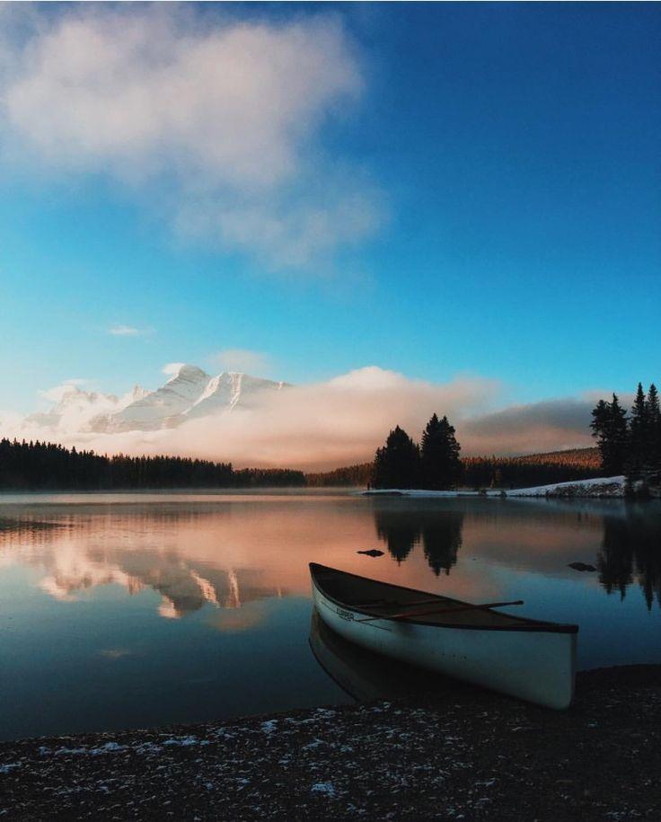 Two Jacks Lake View Point