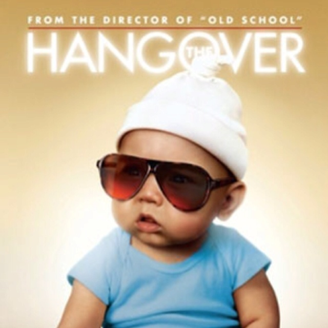 Hangover poster baby