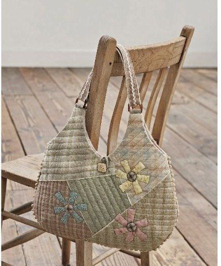 Natural Colors Patchwork Bags - Japanese Quilt Craft Book (In Chinese)