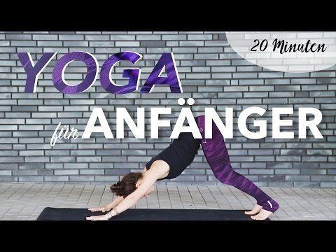 YOGA für Anfänger | 20 Minuten Home Workout - YouTube