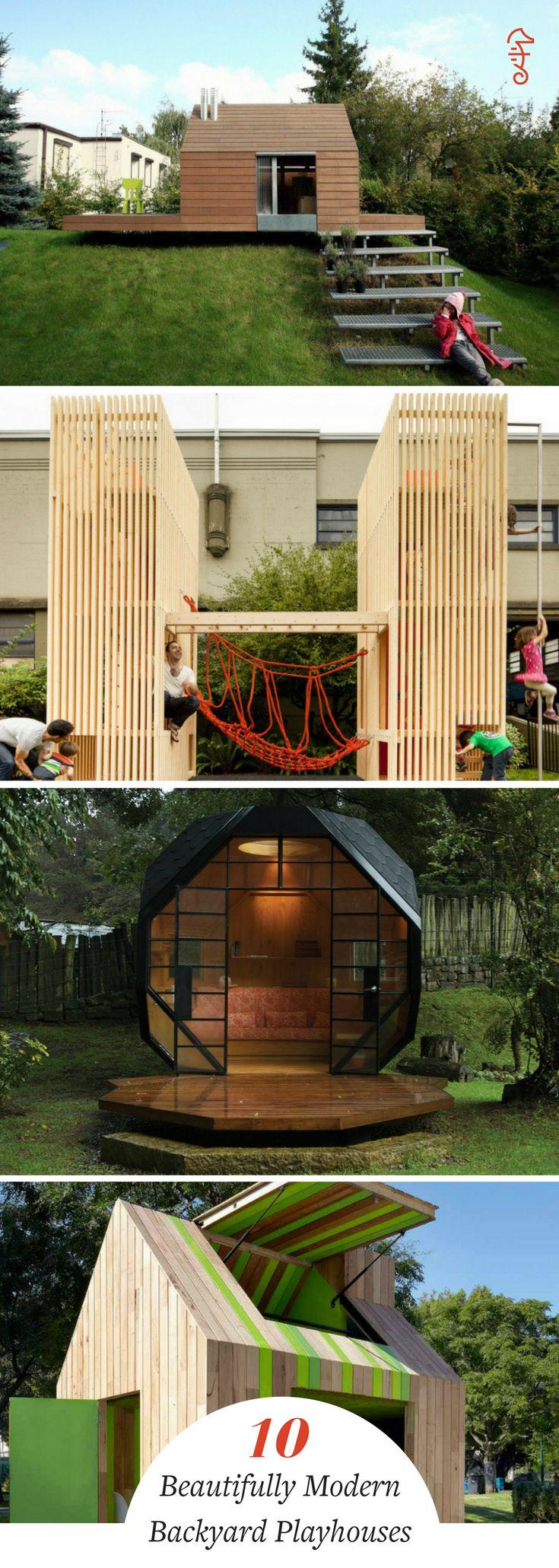 best 25 kid playhouse ideas on pinterest childrens Treehouse DIY Backyard Ideas Hard Backyard Tree House