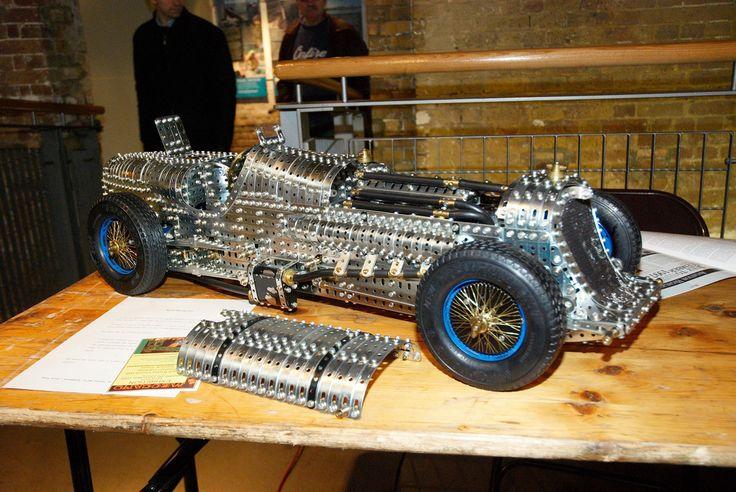 Meccano Napier Railton Racing Car by Terry Allen