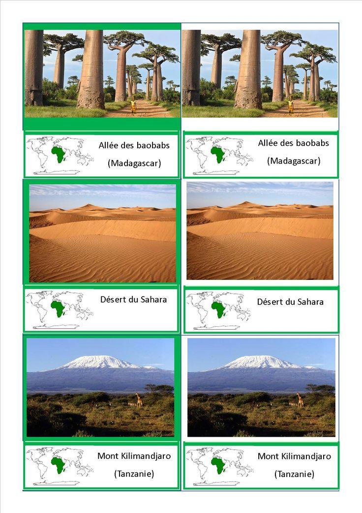 Comme promis, voici mes cartes sur les paysages du monde selon les continents : (Pour avoir la totalité des cartes en pdf, cliquez ici : cartes nomenclature paysages ) Vous pouvez retrouver dans le…