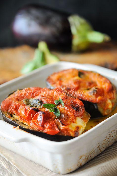 Melanzane alla siciliana ripiene veloci e facili vickyart Arte in Cucina
