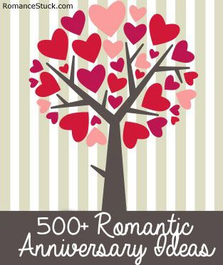 A complete list of anniversary ideas including traditional anniversary gifts by year, modern anniversary gifts by year, and more. - http://www.romancestuck.com/anniversary/anniversary-gifts.htm