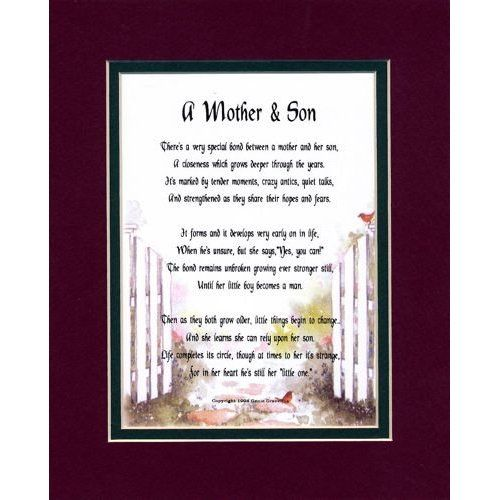 words to my son son to mother poems best birthday