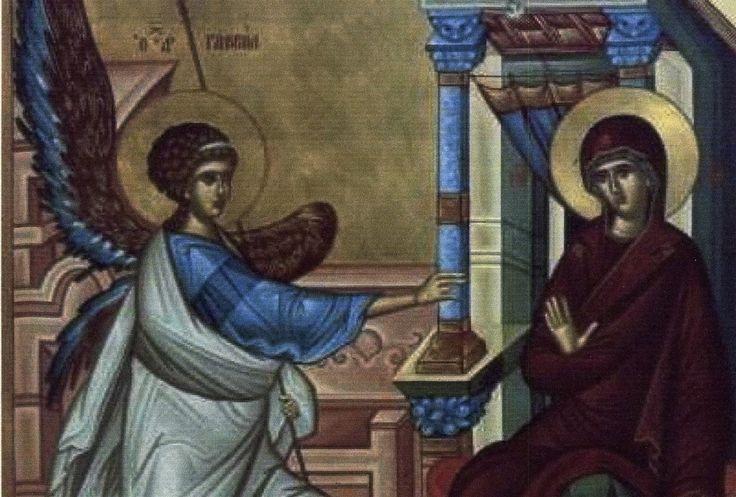 Ἅγιος Γρηγόριος ὁ Παλαμᾶς: Ὁμιλία στόν εὐαγγελισμό τῆς πανυπέραγνης Δέσποινάς μας Θεοτόκου καί Ἀειπαρθένου Μαρίας | Κύριος Ἰησοῦς Χριστός-Ὑπεραγία Θεοτόκος