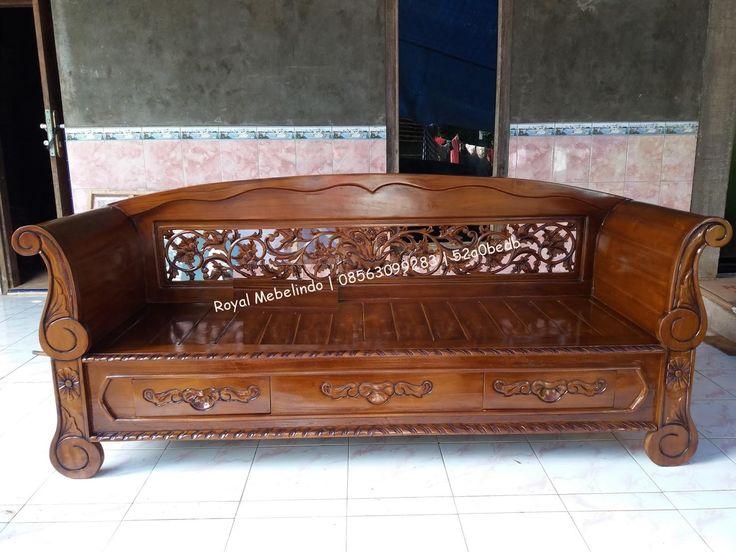 Bale Bale Ukir Madura Kayu Jati Bahan kayu jatiFinishing MelamicUkuran 200cm x 100cm** KLIK GAMBAR UNTUK MEMPERBESAR TAMPILAN GAMBAR **Cal