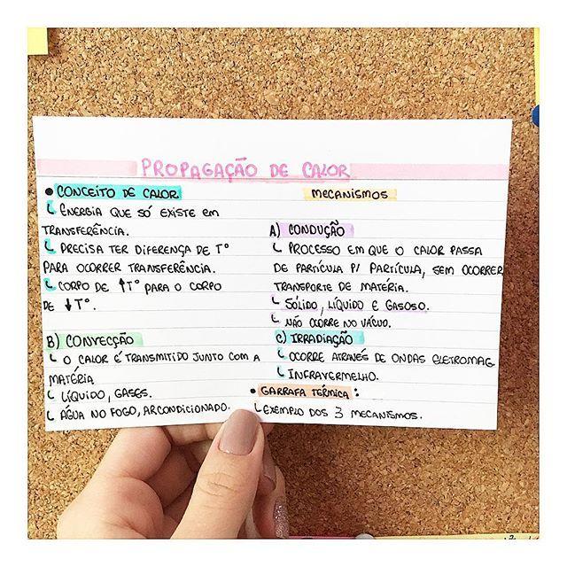 FÍSICA- MECANISMOS DE PROPAGAÇÃO DE CALOR #resumosonhodamedicina #resumos #fisica