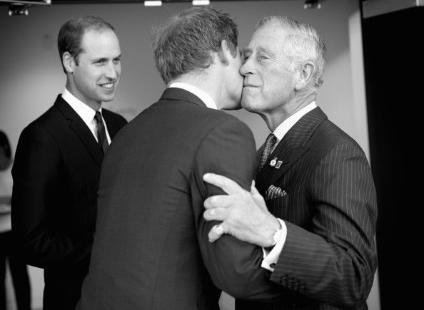 Prince Harry and Prince Charles - Prince Harry's Invictus Games