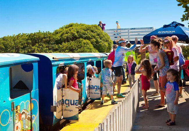 Blue train ride, Mouille Point