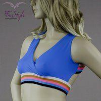 RAINBOW TOP ROYAL BLUE #moda  #fitnessfashion #top #free_style #girl #fashion #sexy #like #fitness