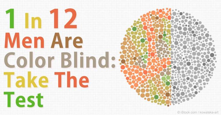 Color blindness affects about one in 12 men and one in 200 women worldwide who can only see in black and white or shades of gray. http://articles.mercola.com/sites/articles/archive/2015/10/10/color-blindness.aspx