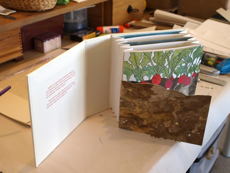 Building a Tunnel Book - excellent tutorial with hard cover.
