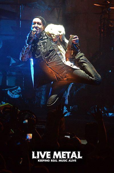 LIVE PHOTOS: Marilyn Manson – 06/17/13 – Merriweather Post Pavilion, Columbia, Md. | Live Metal