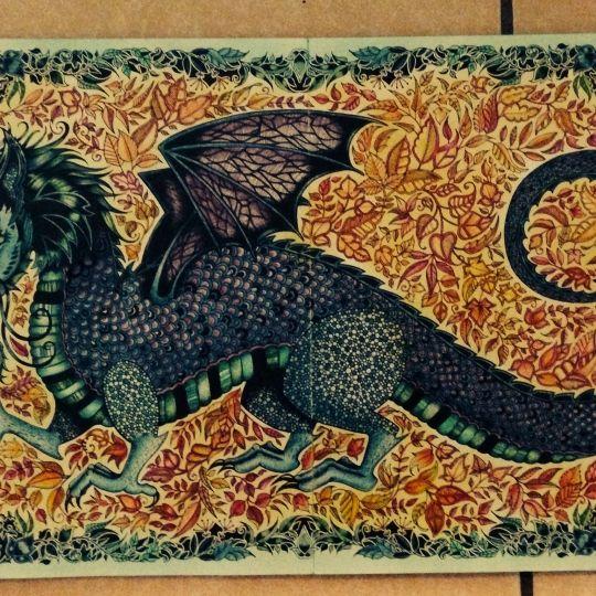 enchanted forest dragon original - photo #10