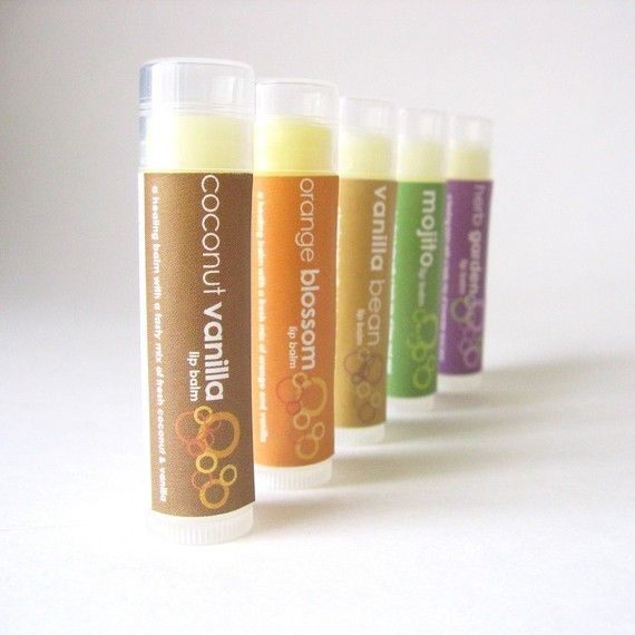My favorite lip balm. All natural, non-sticky and smells so yummy!