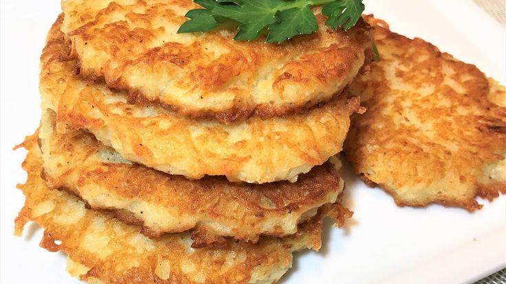 ДРАНИКИ. Секрет Вкусных Драников. Картофельные Оладьи. Вкуснейшие хрустящие дранники, Вам обязательно понравятся. Готовьте с удовольствием! СОУС СМЕТАННЫЙ ДЛ...