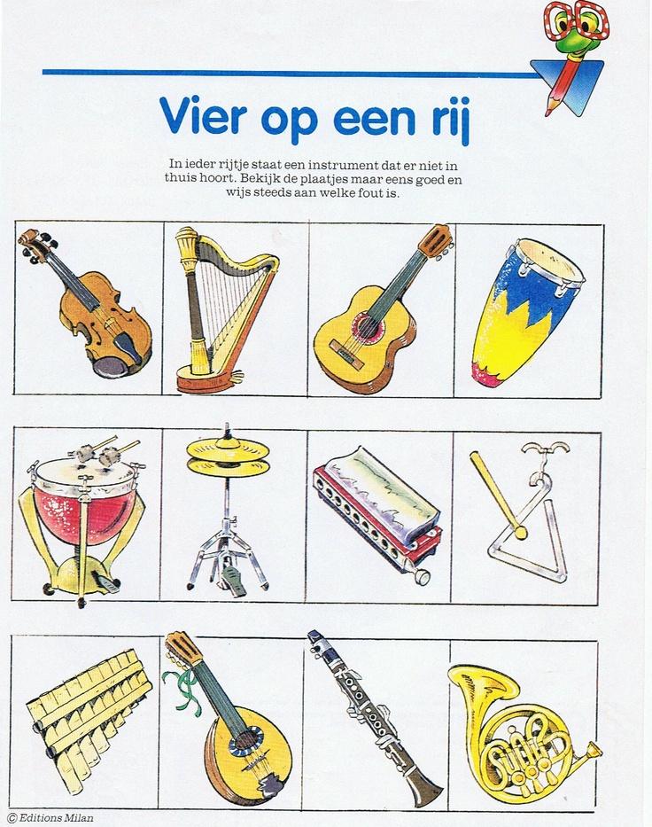 -soorten instrumenten