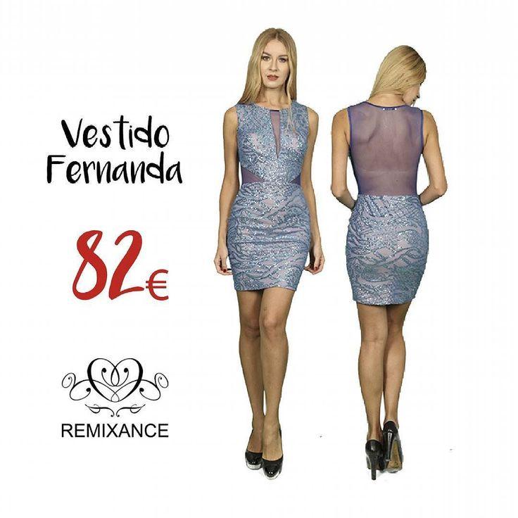 Esta primavera vístete de azul  Vestido Fernanda disponible en la boutique @dressmeup_alla  C/Duque Sesto 11 Zona Goya. Madrid  #remixance  #sofisticacionsinesfuerzo