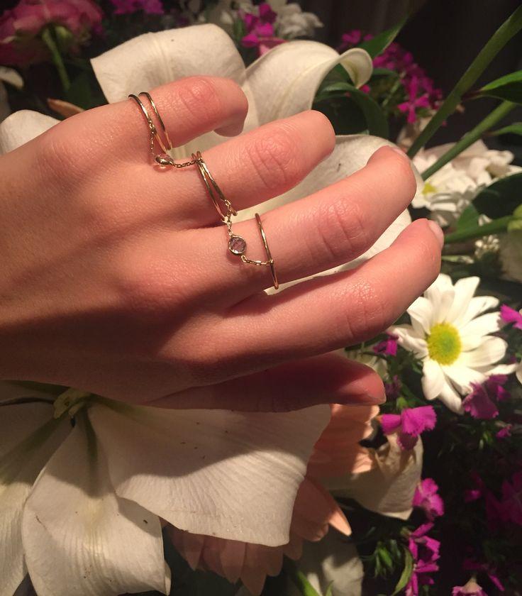 Üçlü Tel 14 Ayar Altın Yüzük  #gold #jewelry #wire #altın #yüzük #tel #fashion #custom
