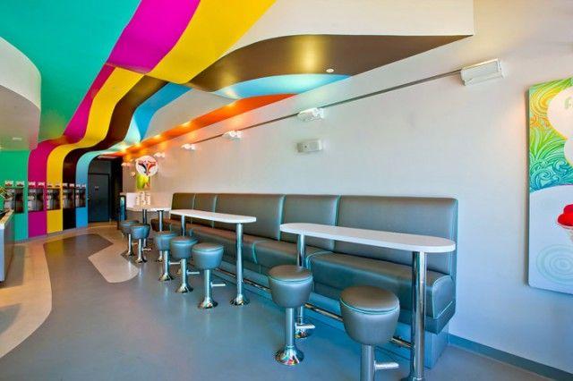 Frozen Yogurt Interior Design
