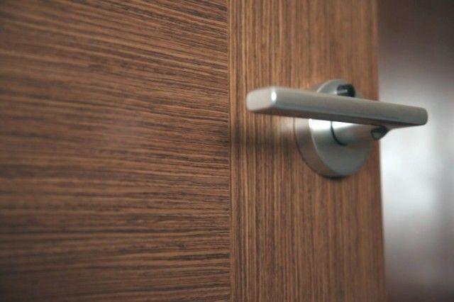 Как почистить шпонированную дверь 0