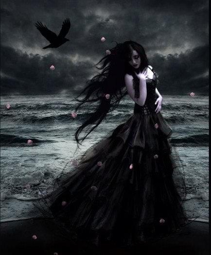 Gothic beauty .