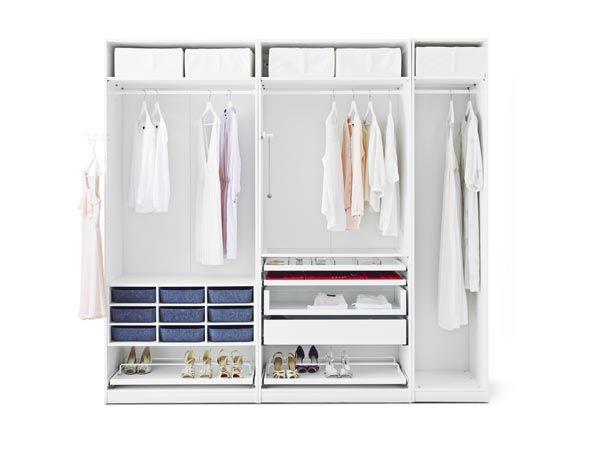 Las 25 mejores ideas sobre vestidores baratos en - Armarios modulares ikea ...
